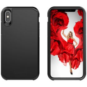 Luvvitt iPhone XS Max Case Ultra Armor Cover for 6.5 inch Screen 2018 - Black