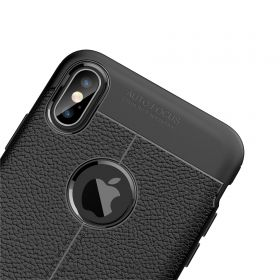 "Luvvitt Case for iPhone XS Max TPU Flexible Protection 6.5"" Screen 2018 - Black"