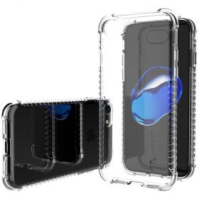 Luvvitt Clear Grip Case for iPhone 8 - Crystal Clear