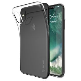 Luvvitt iPhone XR Case Clarity TPU Flexible Cover for iPhone XR with 6.1 inch Screen 2018 - Clear
