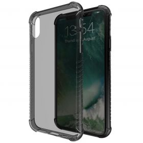 Luvvitt Clear Grip Flexible Slim Shock Proof TPU Case for iPhone XS / X - Black