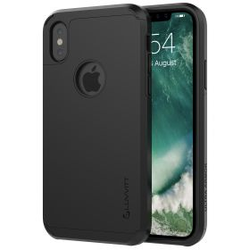 Luvvitt Ultra Armor Dual Layer Case for iPhone XS / X 5.8 inch 2017-2018 - Black