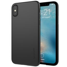 Luvvitt Svelte Slim Fit Hard Shell Case for iPhone XS / X - Black