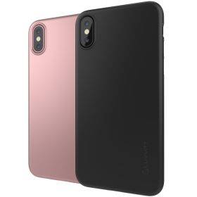 Luvvitt Svelte Slim Fit Hard Shell Case for iPhone XS / X