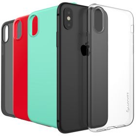 Luvvitt Clarity Case for iPhone X / XS Slim Flexible TPU Rubber Light Cover
