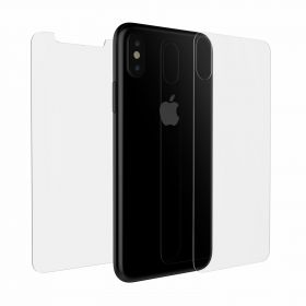 Luvvitt Full Body Front / Back Tempered Glass Screen Protector for iPhone XS / X