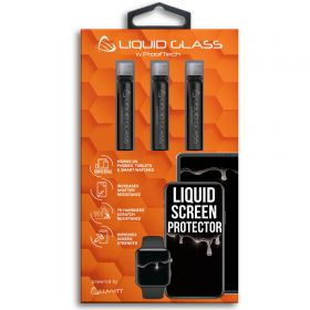 Liquid Glass Screen Protector Universal for All Phones Tablets Watches - 3 Pack