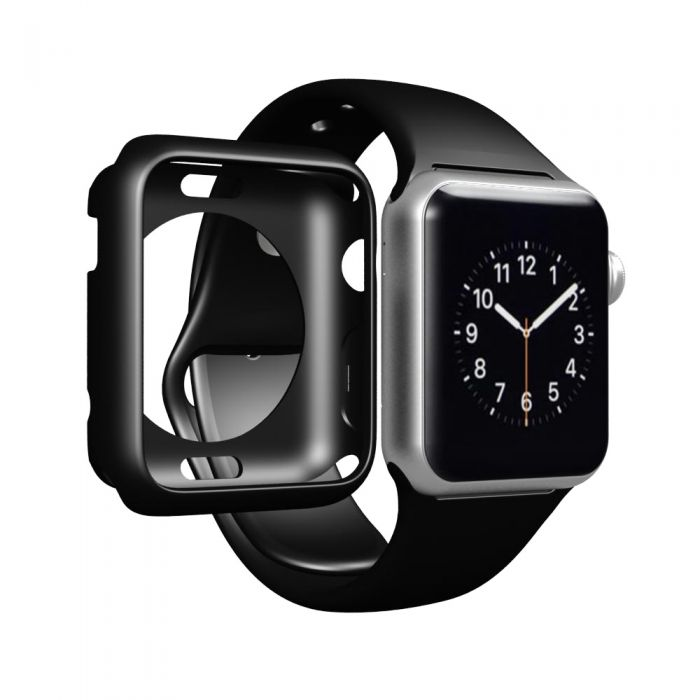 finest selection 382d4 10812 LUVVITT CLARITY Apple Watch Case 42mm - Black