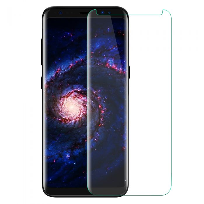 innovative design 16cb4 ff569 LUVVITT TEMPERED GLASS Screen Protector ( Case Friendly ) for Galaxy S8 -  Clear
