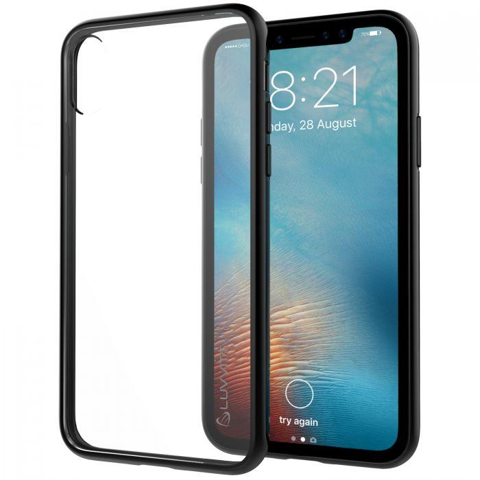 super popular e5039 0e5dc Luvvitt Clear View Hybrid Case for iPhone XS / X - Black