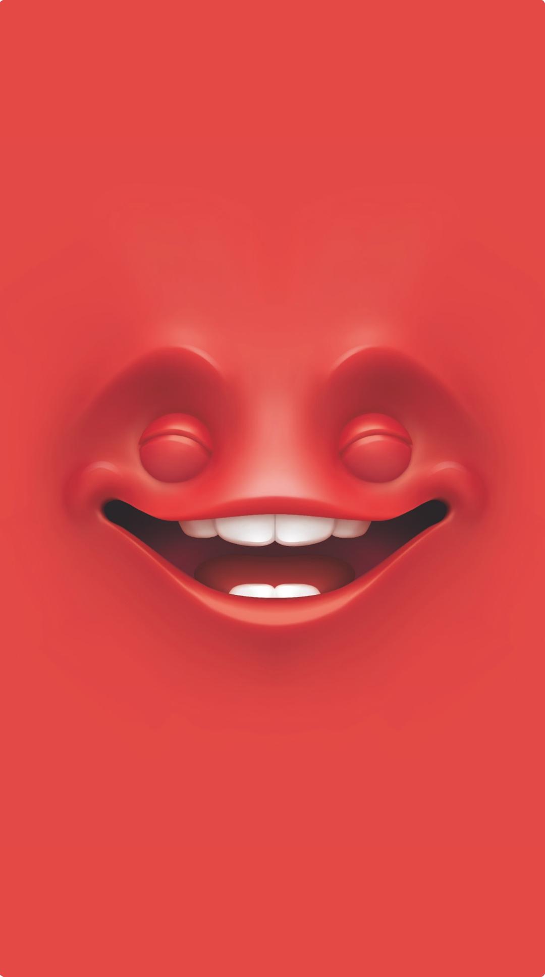 Red Emoji Wallpaper
